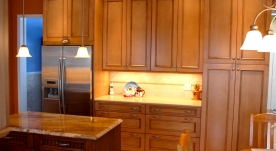 Maple Cabinets - Quartz Countertops « Maloney Contracting on Natural Maple Maple Cabinets With Quartz Countertops  id=79442