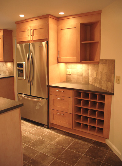 Maple Cabinets Solid Surface Countertops 171 Maloney